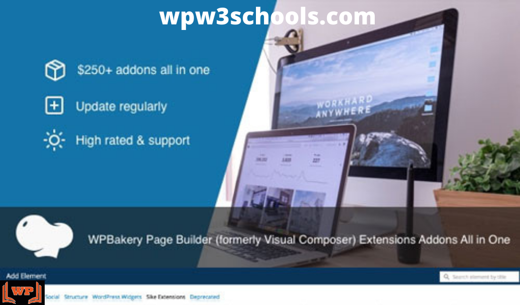 All In One Addons for WPBakery Page Builder v3.6.2 Free Download wpw3schools.com WPw3schools Plugins and Themes