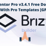 Brizy Pro Nulled Download v2.2.9 – WordPress Builder Plugin WPw3schools Plugins and Themes