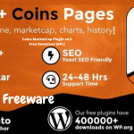Coins MarketCap Plugin v4.5 Free Download GPL 2 WPw3schools Plugins and Themes