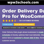 GPL Free Download Order Delivery WooCommerce Extension v1.8.6 wpw3schools.com WPw3schools Plugins and Themes