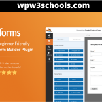 Latest WPForms Pro Plugin Free Download With All Addons WPw3schools Plugins and Themes