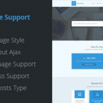 Live Support Nulled Download v.3.7 – Helpdesk Responsive WordPress Theme WPw3schools Plugins and Themes