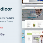 Medicor Nulled Download v.2.0 – Medical Clinic Pharmacy WooCommerce WordPress Theme WPw3schools Plugins and Themes
