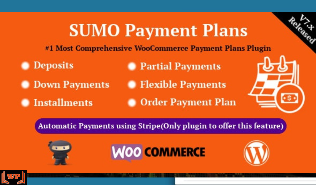 SUMO WooCommerce Payment Plans Free Download v.8.9 – Deposits Down Payments Installments Variable Payments etc WPw3schools Plugins and Themes