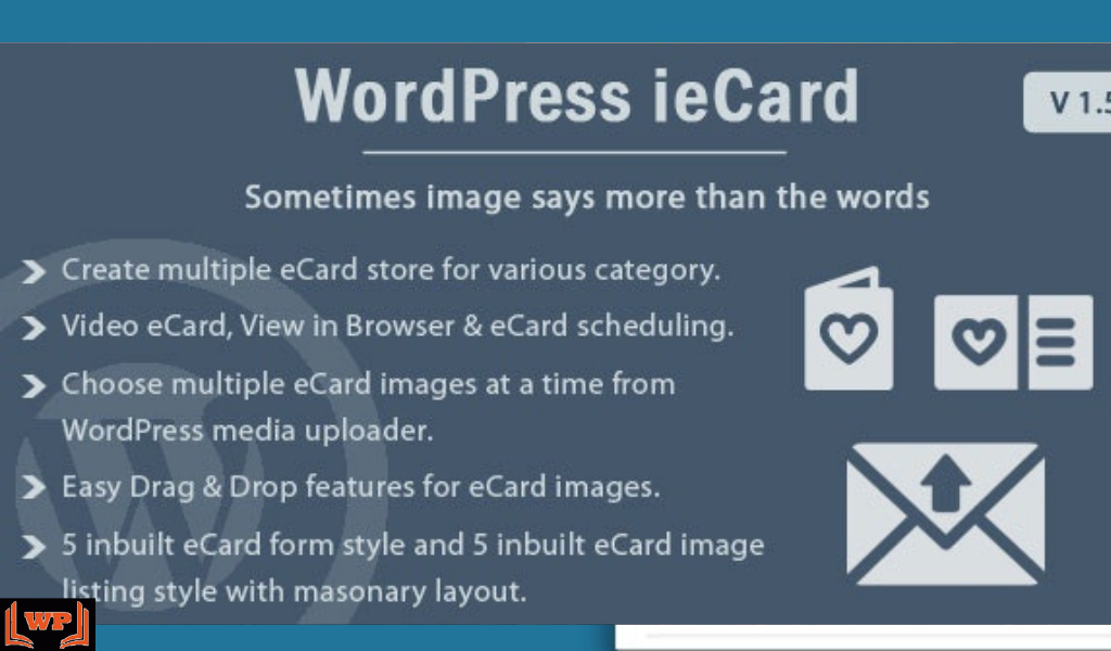 WP ieCard Nulled Download v.1.6.1 – WordPress eCards Plugin WPw3schools Plugins and Themes