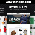 Basel WordPress Theme v5.5.1 Free Download WPw3schools Plugins and Themes