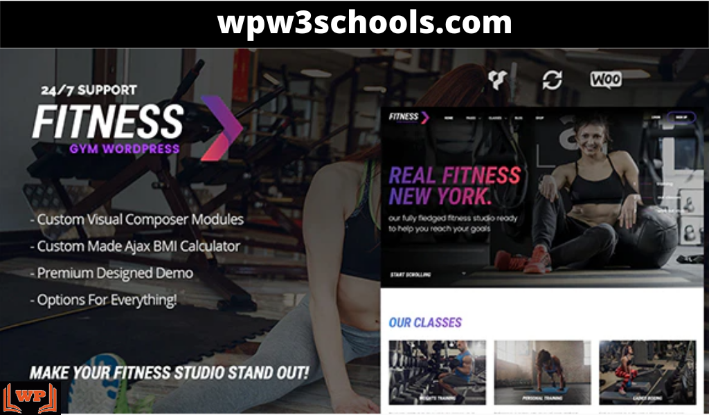 FitnessGym – Personal Trainer & Health WordPress Theme | GPL | Nulled | Free Download